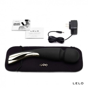 LELO - Smart Wand Large (czarny)