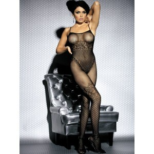 Bodystocking F202 czarne S/M/L