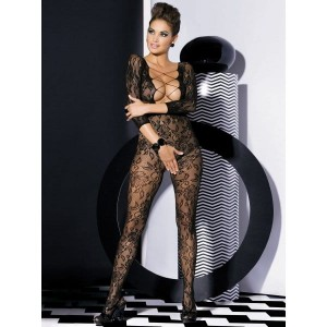 Bodystocking F200 czarne XL/XXL