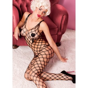 Intenso bodystocking czarne S/M