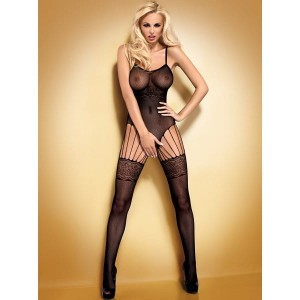 Bodystocking F207 czarne S/M/L