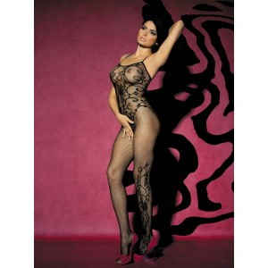 Bodystocking F205 czarne XL/XXL