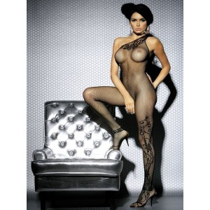Bodystocking F203 czarne S/M/L